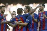 Messi regresa marcando en goleada del Barcelona