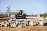 Carretera a Bluefields sigue en construcción con circulación vehicular