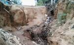 Las calles de la comunidad de El Limón, Jalapa, están  destruidas.  Los pobladores hicieron el llamado a la municipalidad para que atiendan este sitio, que por años ha estado olvidado. LA PRENSA/CORTESÍA