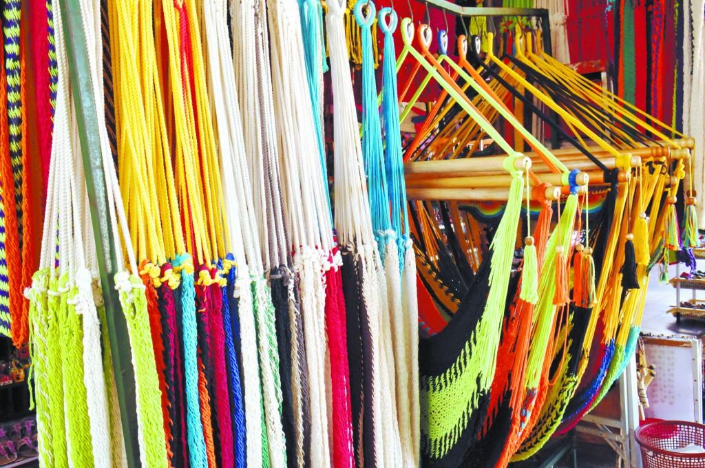 Hamacas típicas, mercado de artesanías de masaya, masaya