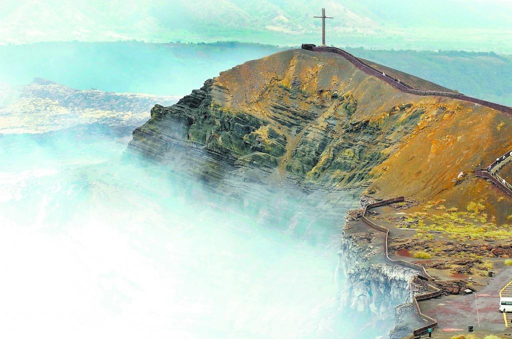 Cráter Santiago, Volcán Masaya, Masaya
