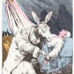 Exposición de los grabados de Francisco de Goya intervenidos por Salvador Dalí