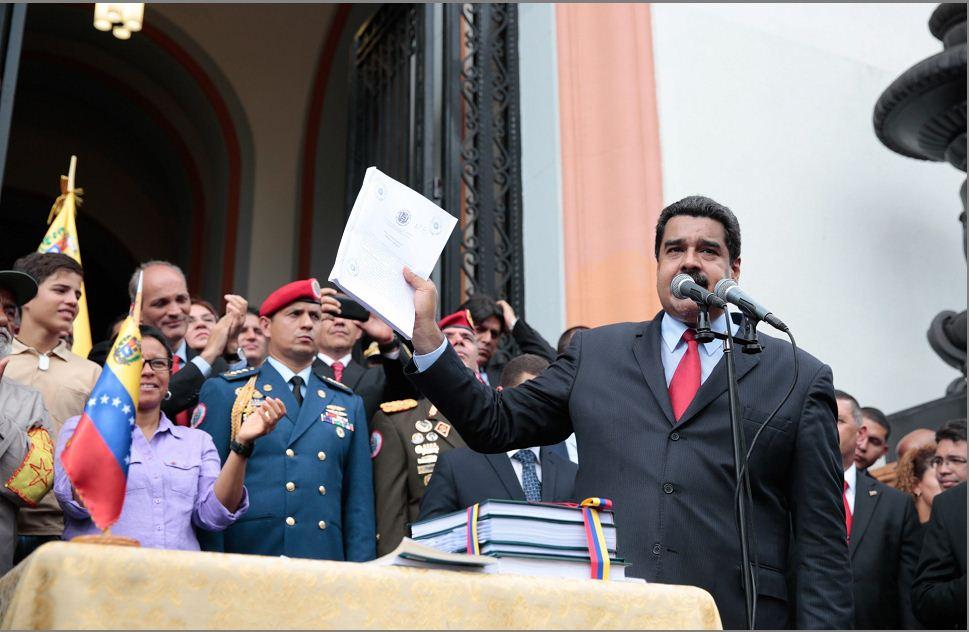 Presidente de Venezuela Nicolás Maduro. LA PRENSA/EFE