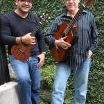 Luis Pastor y Luis Enrique Mejía Godoy en concierto