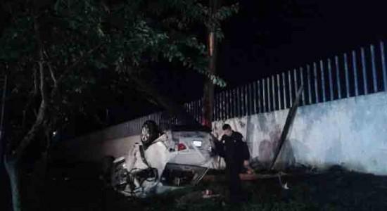 Cinco fallecidos en volcón de vehículo en carretera de Chinandega