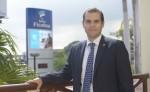 Tomás Sánchez,  gerente general de Banco Ficohsa Nicaragua. LA PRENSA/LUIS GUTIÉRREZ