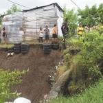 Afectaciones por lluvias en aumento