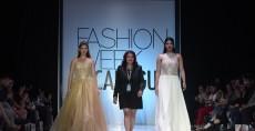 La diseñadora Soraya Membreño presentó  su colección Naturaleza Viva con más de 20 vestidos. LA PRENSA/R.FONSECA