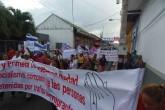 Protestan por acusados de tráfico de migrantes en Rivas