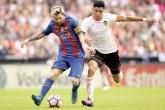 Doblete de Messi y el Barsa es líder provisional