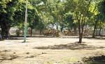 Más de tres millones de córdobas costó la remodelación del parque Las Madres que luego fue demolido. LAPRENSA/C.VALLE