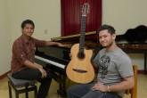Concierto sonoro con piano y guitarra de Rubén Zapata y Omar Ríos