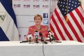 """""""Nada ha cambiado"""" en Nicaragua, dice embajadora Dogu"""