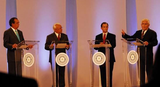 El último debate presidencial que tuvo Nicaragua