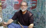 Donaldo Altamirano, poeta y artista en una fotografía del 11 de Enero del 2006. LA PRENSA/ORLANDO VALENZUELA