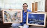 Edgard R. Orozco Campos Artista plastico y escritor.LAPRENSA
