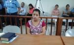 María Auxiliadora Rodríguez González confesó haber matado a su hijo. LA PRENSA/CORTESÍA