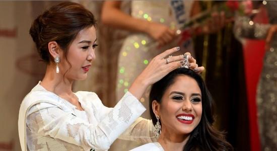 Brianny Chamorro, tercera finalista de Miss Internacional, habla con La Prensa