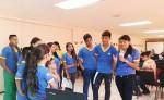 Niños y niñas de la Asociación Infantil Tuktan-Sirpi,  proyecto de comunicación conformado por 95 niños. LA PRENSA/ I. MUNGUÍA