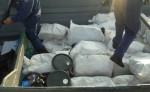 a lancha está siendo trasladada hasta  las costas de Limón, a fin de que la Policía de Control de Drogas proceda a realizar las diligencias que correspondan y el caso sea puesto en manos del Ministerio Público.Cortesía
