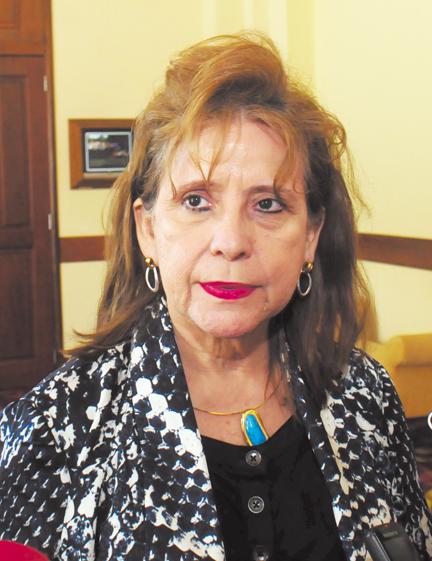 Rosa Marina Zelaya, expresidenta del CSE. LA PRENSA/ARCHIVO