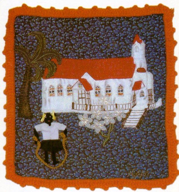 Iglesia Morava de Bluefields , obra de Nydia Taylor. LAPRENSA/Arhivo