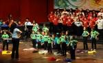 El público pudo disfrutar alegres ritmos como el Mambo de Pérez Prado, dirigido por el joven maestro Daniel Domínguez y temas como el Tico Tico de Zequinha Abreu, con arreglos de la maestra Reyna Somarriba. LAPRENSA/Carlos Valle