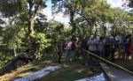 Vista del lugar del accidente. LA PRENSA/Luis Eduardo Martínez.