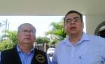 Álvaro Leiva Sánchez y Marcos Carmona, representantes de ANPDH y CPDH, respectivamente. LA PRENSA/ARCHIVO