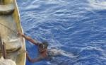 La pesca de pepino de mar no cesa en el Caribe del país, a pesar de que ha cobrado numerosas muertes de los buzos artesanales. LAPRENSA/J.GARTH