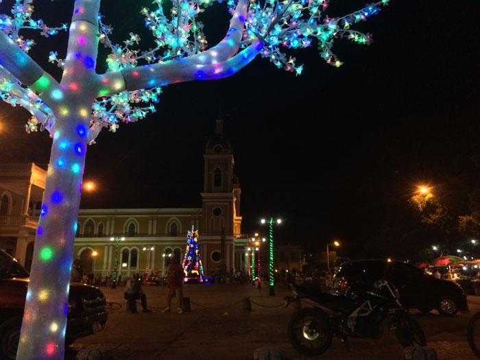 La Plaza de la Independencia es, con la calle La Calzada, uno de los principales atractivos de la ciudad colonial. Foto: LA PRENSA / Fabrice Le Lous.