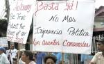 Una vez más la comunidad negra indígena creole de Bluefields introdujo un recurso de amparo en reclamo para  que se reconozcan sus derechos, esta vez fue contra el presidente inconstitucional Daniel Ortega. LA PRENSA/ ARCHIVO
