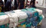 Estas son las 1.32 toneladas de cocaína que decomisaron en altamar. LAPRENSA/Josué Bravo