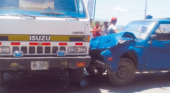 Preocupa alta accidentalidad en Nueva Segovia