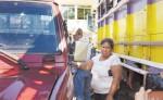 Doña Francisca Ramírez llegó a exigir  a la Policía de Nueva Guinea que le entregue sus vehículos, los cuales mantiene retenidos ilegalmente. LA PRENSA/C. VALLE