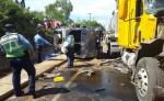 Accidente de tránsito en León causa la muerte de una personas. LA PRENSA/E.López