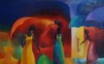 Pintura de Salvador Avalos. LAPRENSA/ARNULFOAGÜERO Pintura de Salvador Avalos. LAPRENSA/ARNULFOAGÜERO