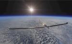 Fotografía del avión solar biplaza de la misión SolarStratos, que aspira a convertirse en el primero en llegar en  a más de 24,000 metros de altura. EFE