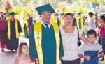 Nuevos profesionales fueron entregados en la tercera graduación realizada en Waspam. LAPRENSA/J.GARTH