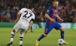 El Barsa en un partido de Liga de Campeones. LAPRENSA/ EFE