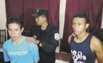 Los sospechosos de haber violado a una joven de 21 años el pasado sábado en Estelí. LA PRENSA/ ROBERTO MORA