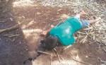 Tres muertos por conflicto de tierras en Prinzapolka. Según los familiares de las victimas unos colonos llegaron a amenazarlos de muerte a su propiedad y considera que son los principales sospechosos del crimen.  CORTESIA