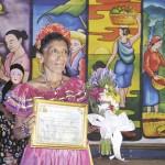 Marta Toribio, icono vivo de Masaya