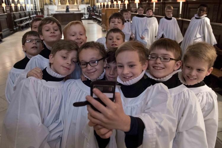 niños coristas, Catedral de San Pablo