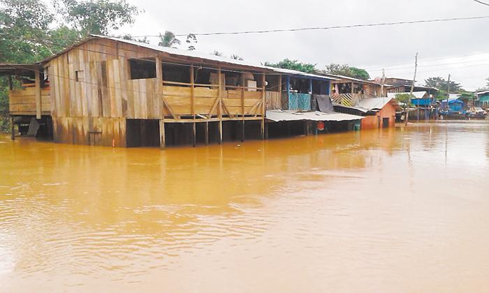 Inundaciones en puerto principe. LA PRENSA/J. DUARTE