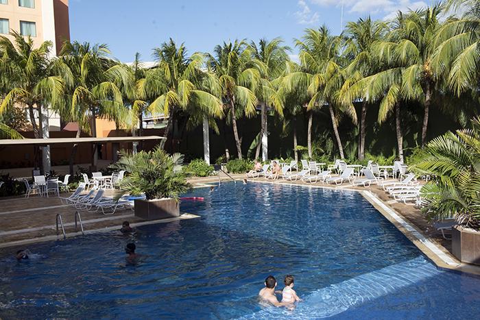 El hotel Holiday Inn tiene dos formas de acceso al área de piscina: membresía y pago por día. LAPRENSA/URIELMOLINA