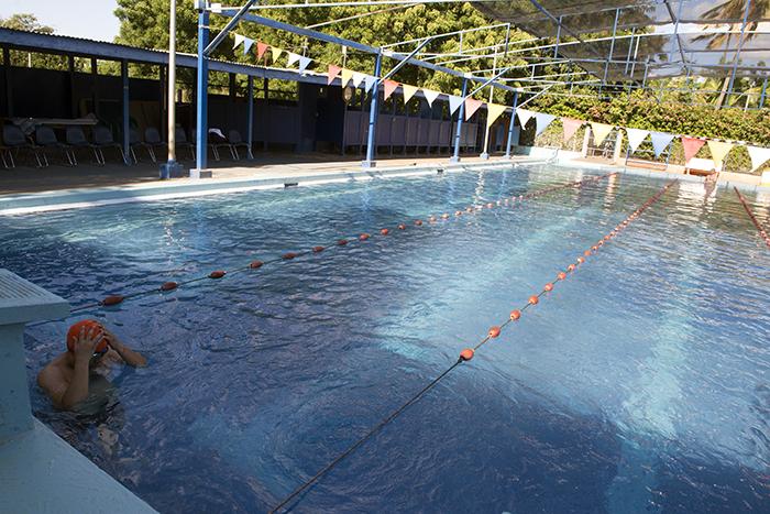 La piscina es semi olímpica y abre de las 5:00 am hasta las 8:00 pm. LAPRENSA/URIELMOLINA
