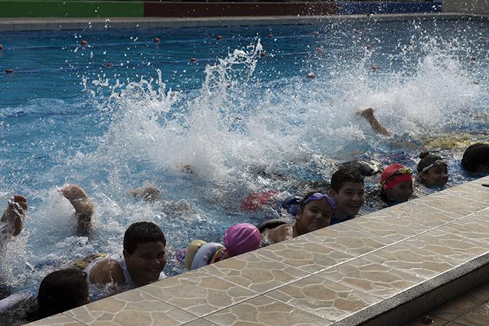 En la UNI puede escoger cualquiera de las siete escuelas que imparten las clases de natación. LAPRENSA/URIELMOLINA