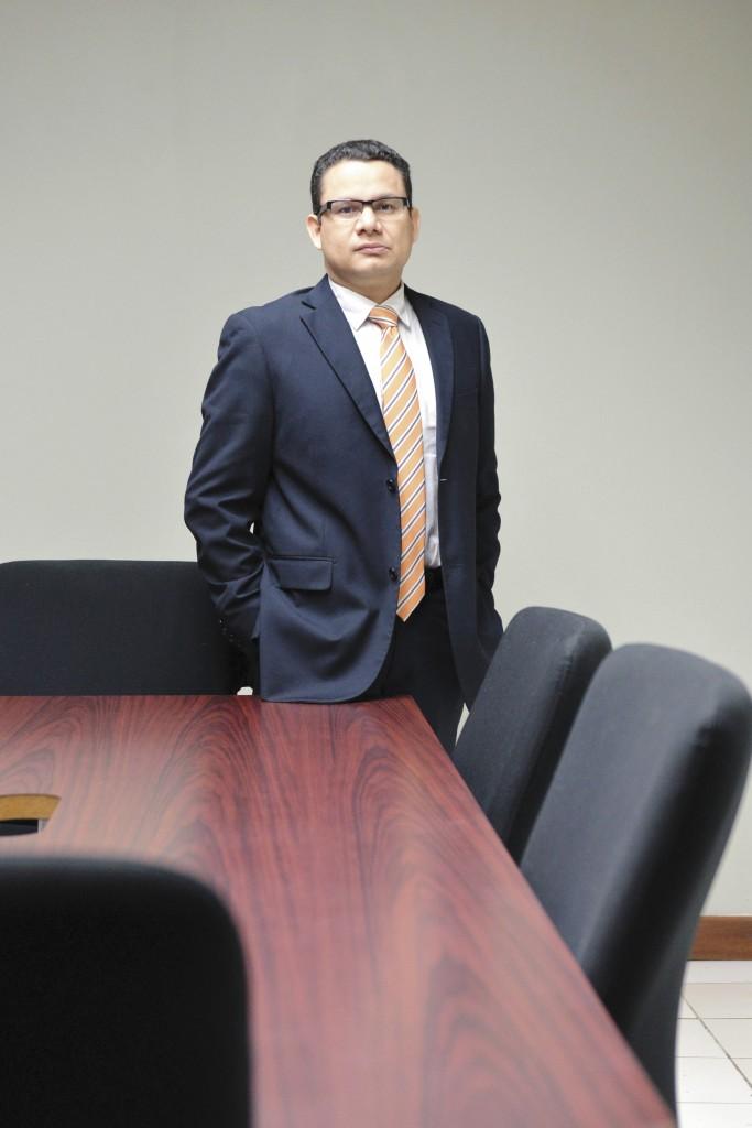 Ricardo de León Borge, máster en relaciones internacionales habla sobre Nicaragua y la OEA. LA PRENSA/ Jader Flores