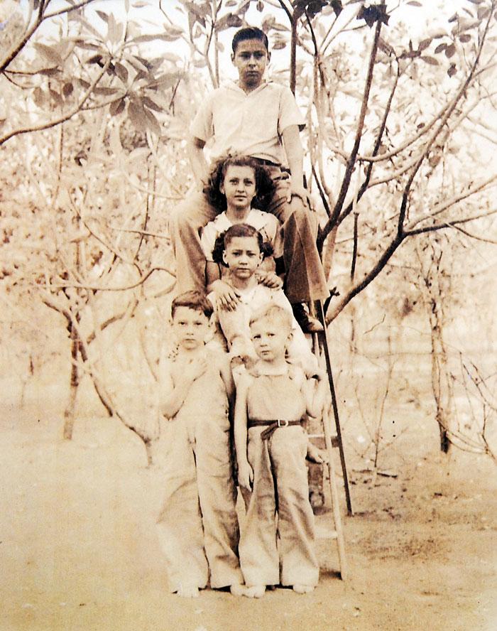 Pedro Joaquín, Ana María, Ligia, Xavier, Jaime Chamorro, familia chamorro, Pedro Joaquín Chamorro